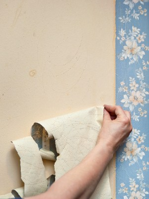 Wallpaper removal in Bellmawr, NJ by Pete Jennings & Sons.
