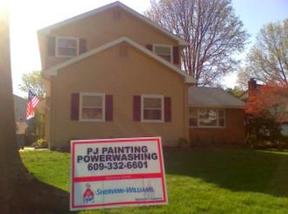 Painting Siding, Trim and Shutters