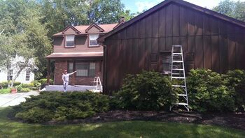 Exterior House Painting by Pete Jennings & Sons