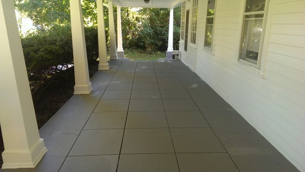 After Exterior Patio Painting